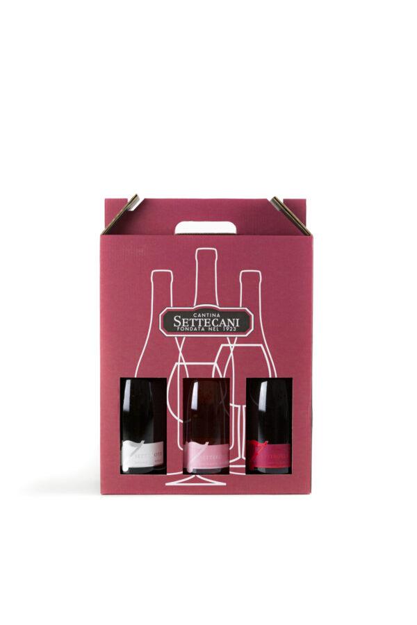 Proposta B. 3 Bottiglie tra Vini del Re o Spumanti
